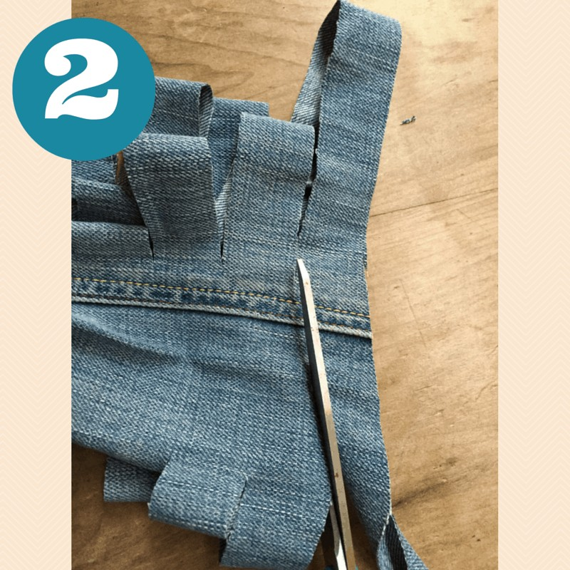 How to make jeans yarn