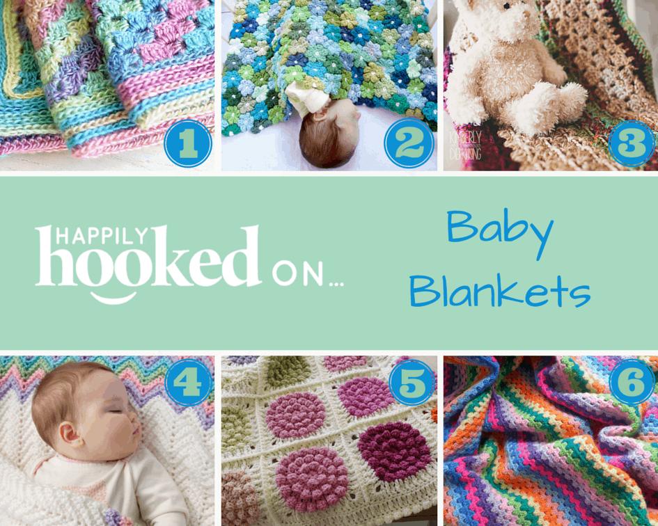 Crochet baby blankets Happily Hooked Magazine