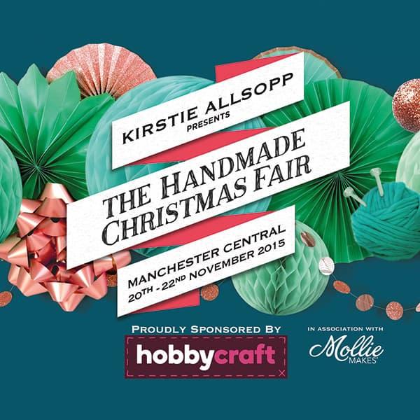 The Handmade Christmas Fair 2015 - Kirstie Allsopp and Mollie Makes