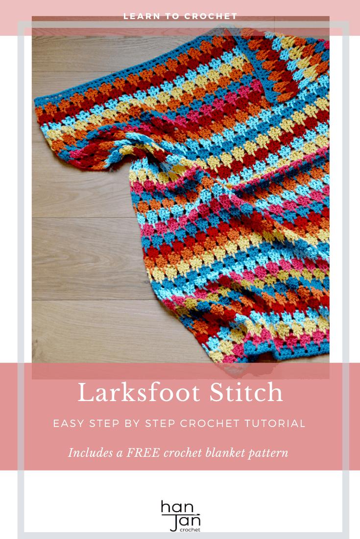 Larksfoot Stitch Blanekt Stitch 2