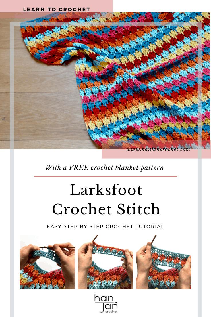 Larksfoot Stitch Blanket Stitch 1