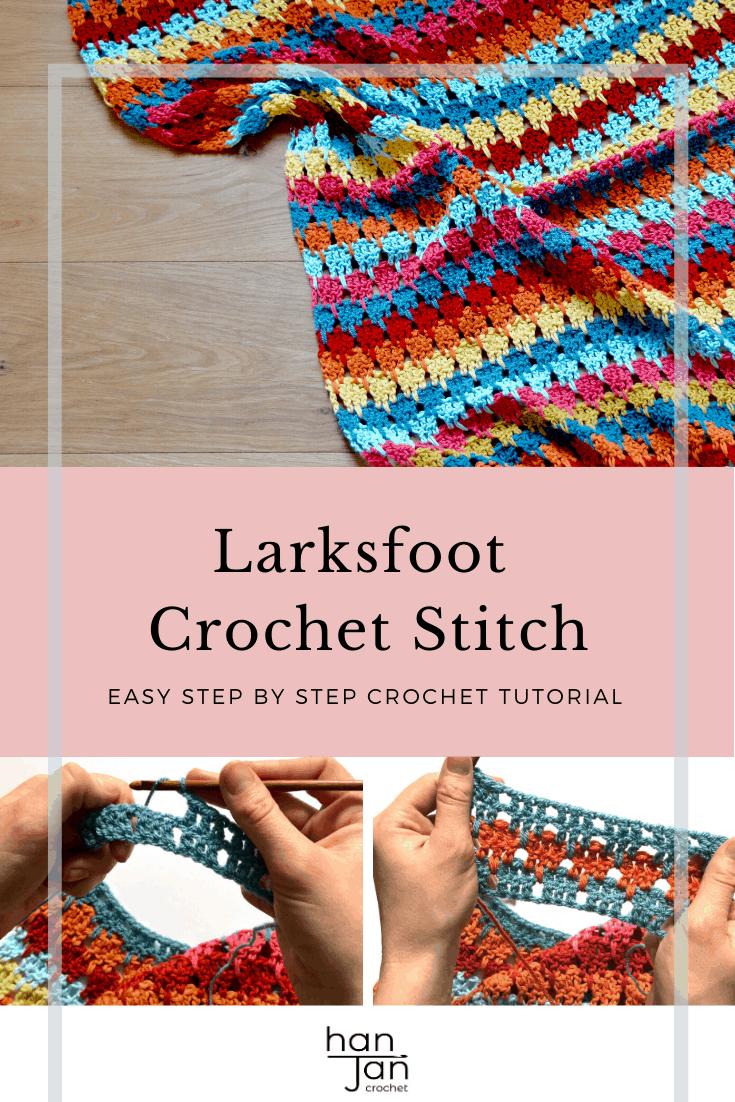 Larksfoot Stitch Blanket Stitch 3