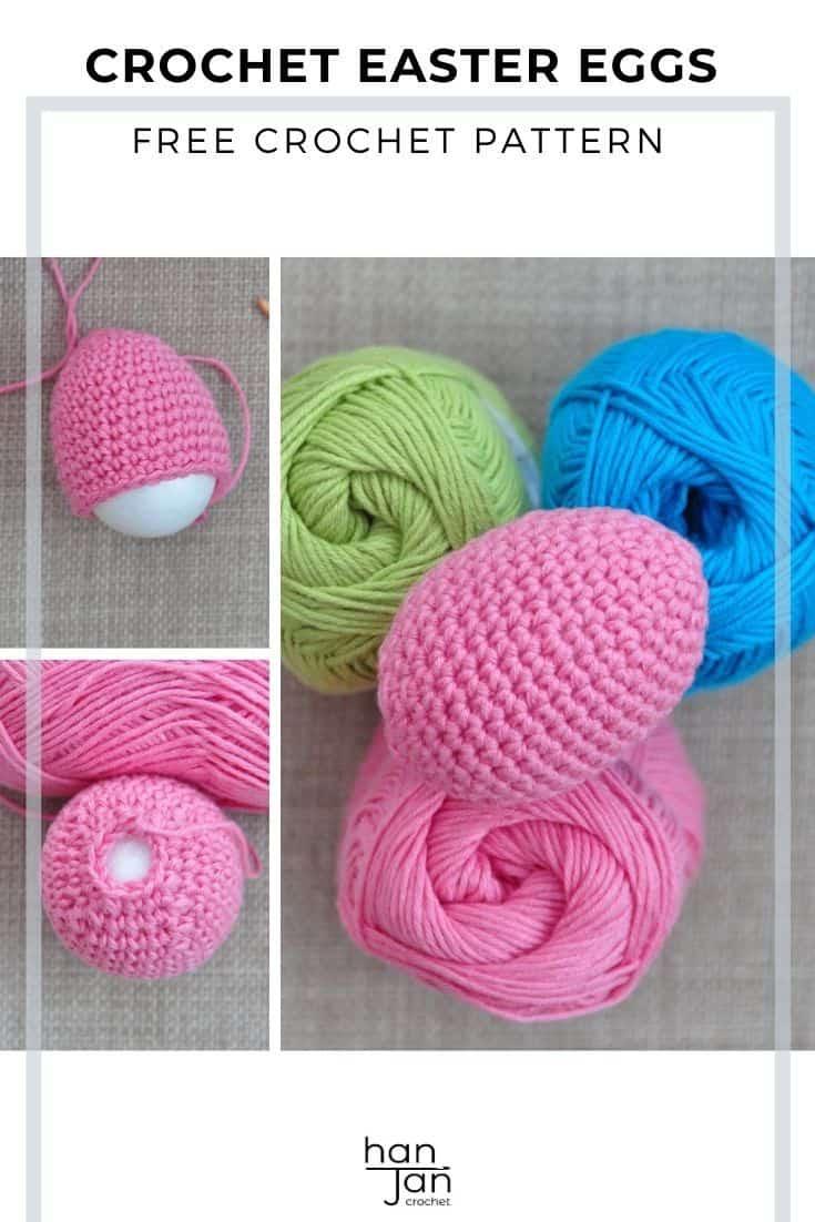 Crochet Easter Eggs Free Amigurumi Crochet Pattern 2