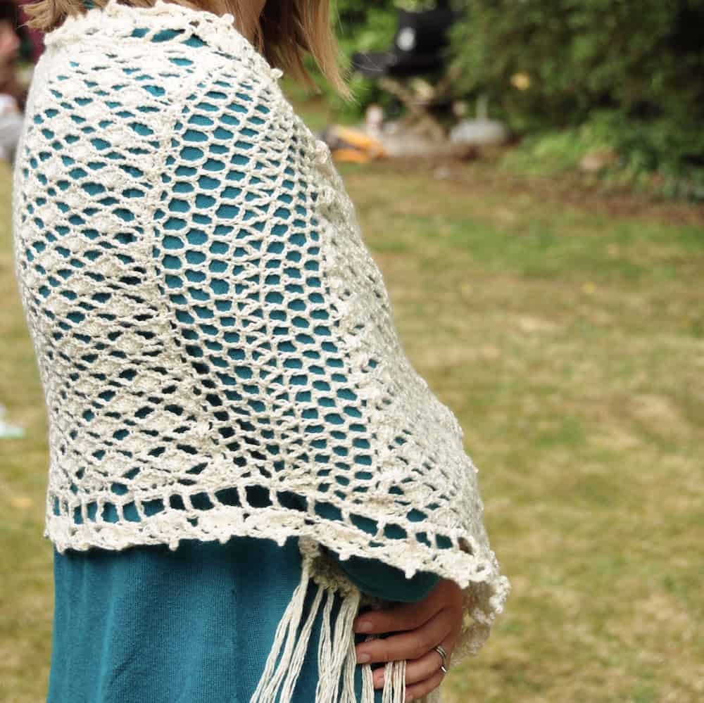 how to crochet the vintage lace stitch free crochet pattern