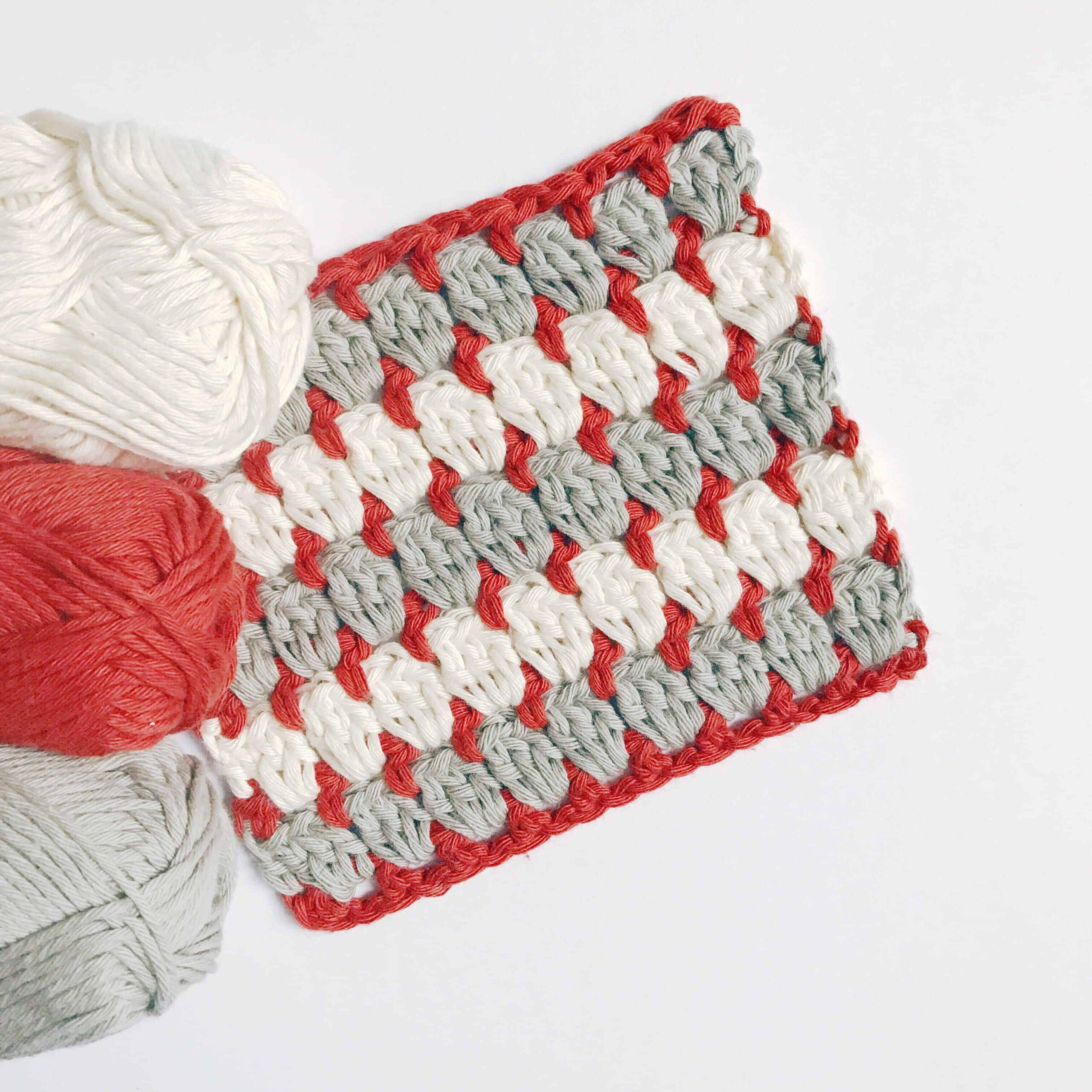 how to crochet the granny block stitch free crochet pattern
