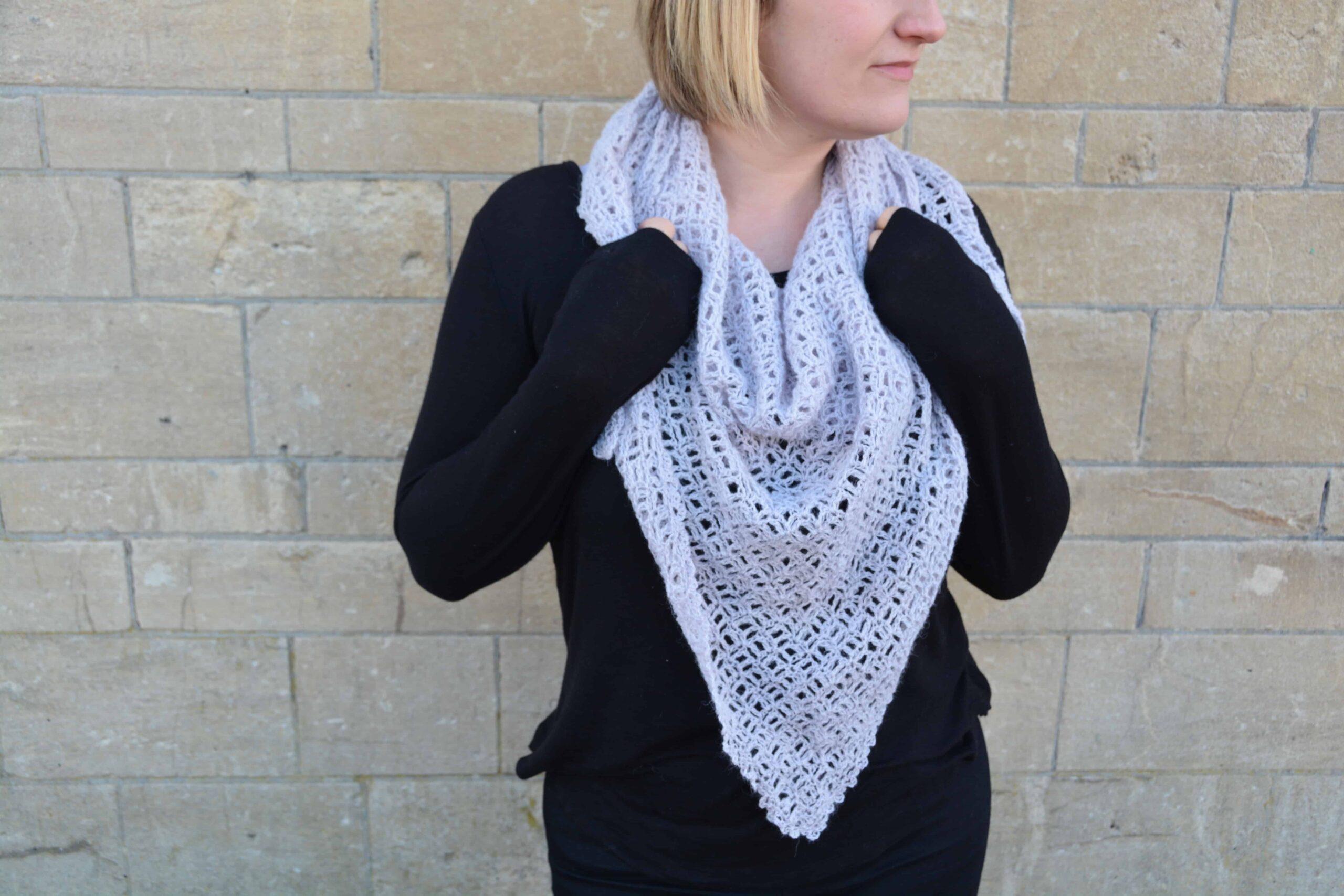 Free c2c crochet shawl pattern