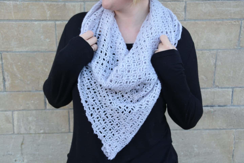The Serenity Shawl by Hannah @ HanJan Crochet