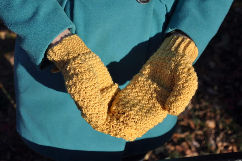 free mitt crochet pattern