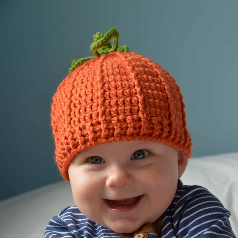 pumpkin crochet hat free pattern