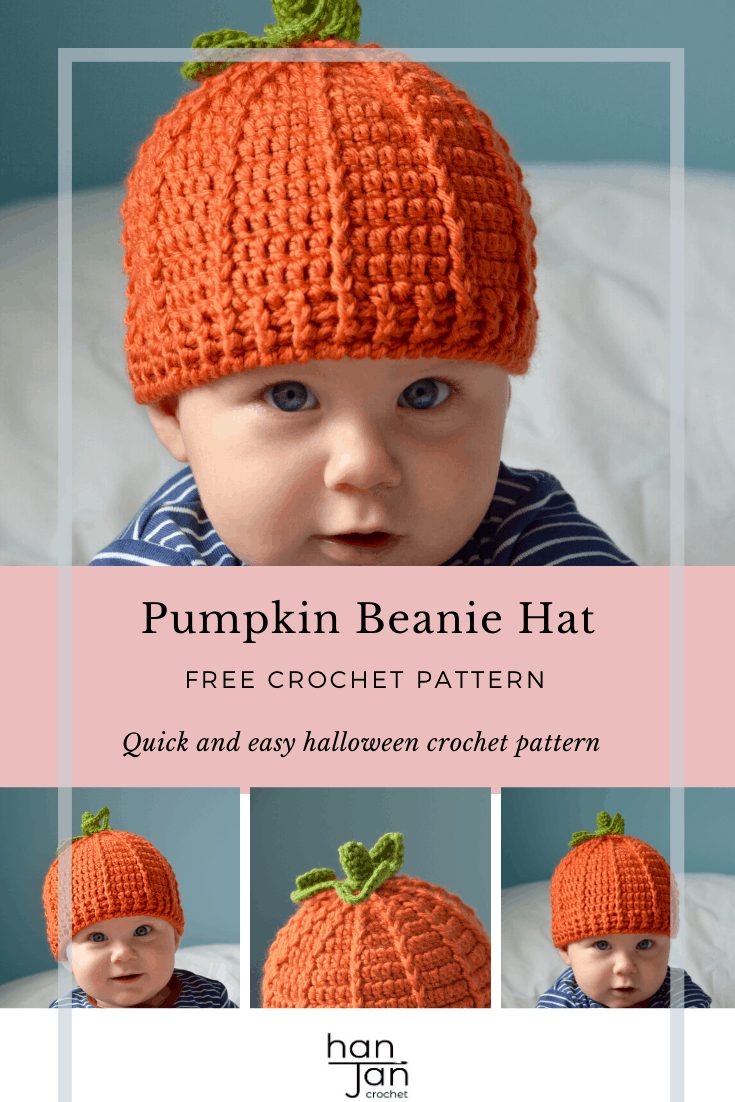 Pumpkin Beanie Hat 3