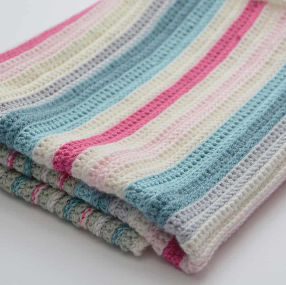 easy crochet pattern, free crochet blanket pattern