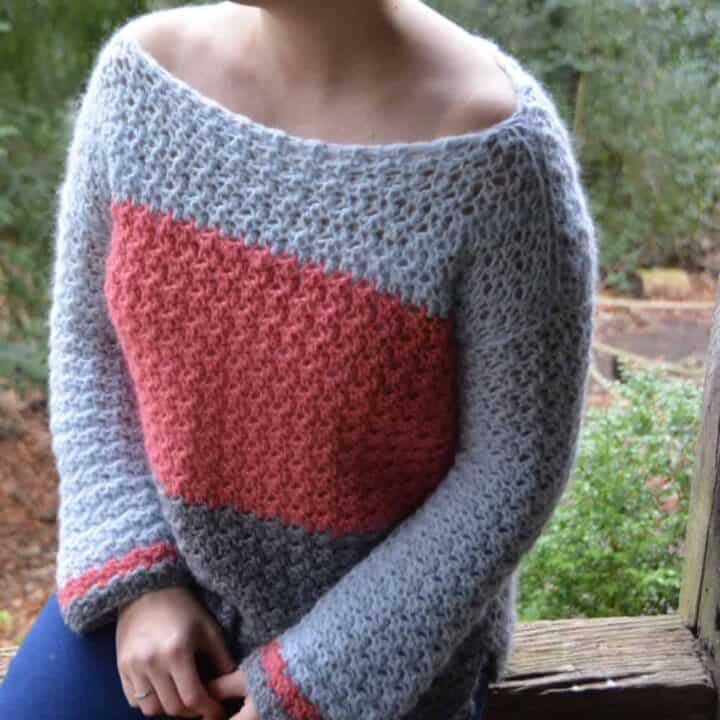 Colour Block jumper 7