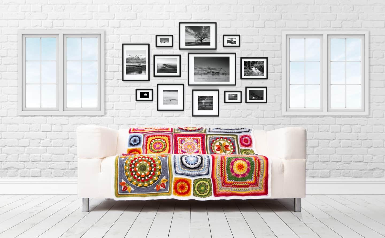 four seasons CAL blanket free crochet pattern Hannah Cross Deramores