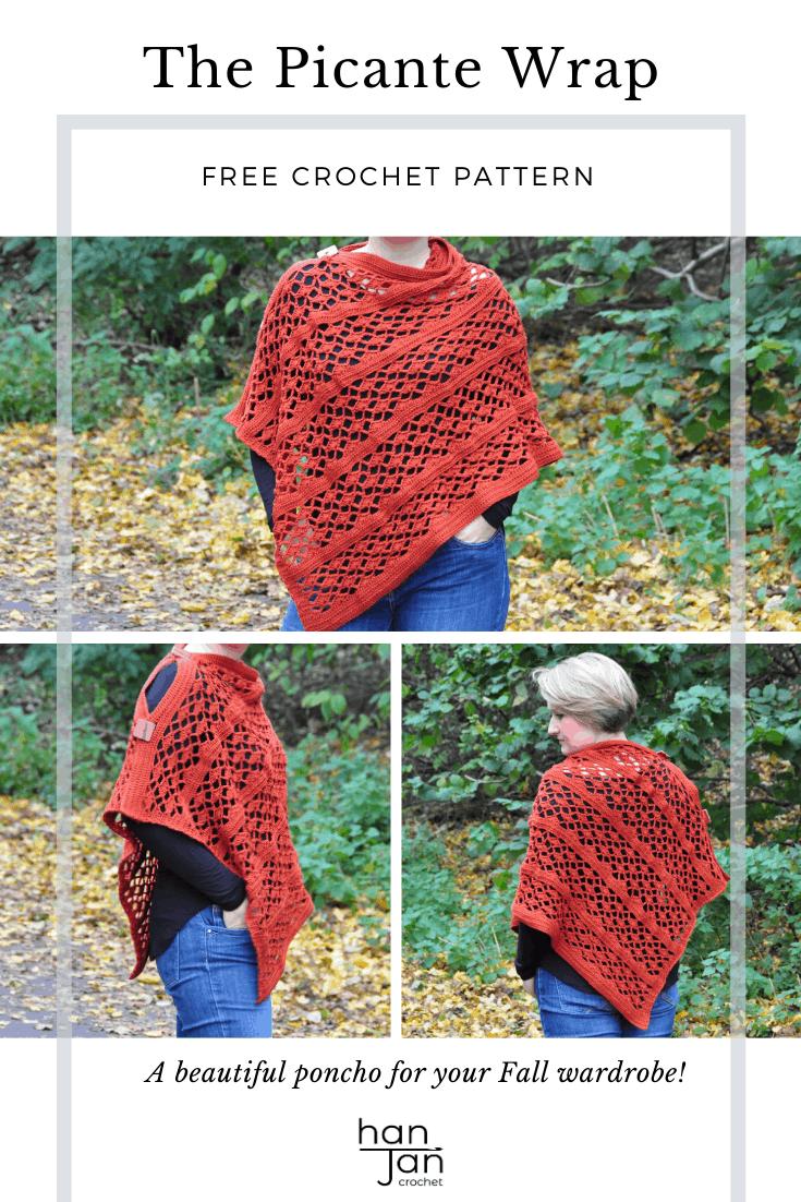 Picante Wrap Crochet Pattern 2