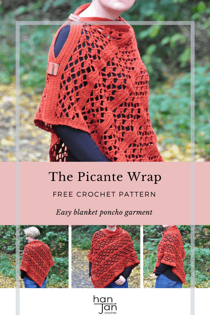 Picante Wrap Crochet Pattern 3
