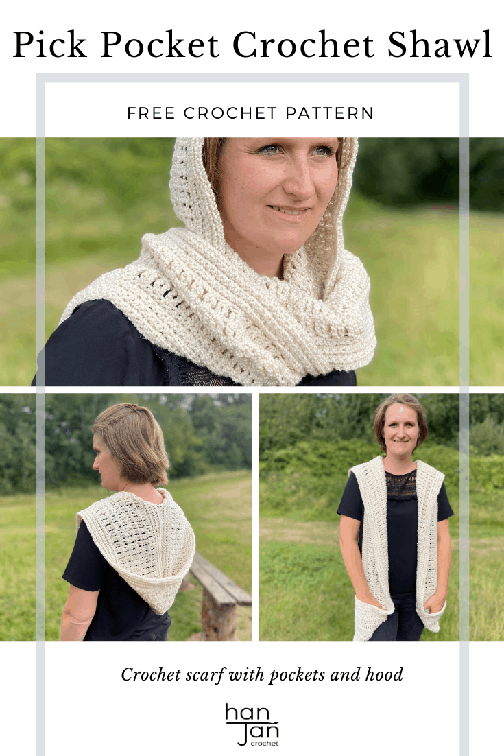 Pick Pocket Crochet Shawl 2