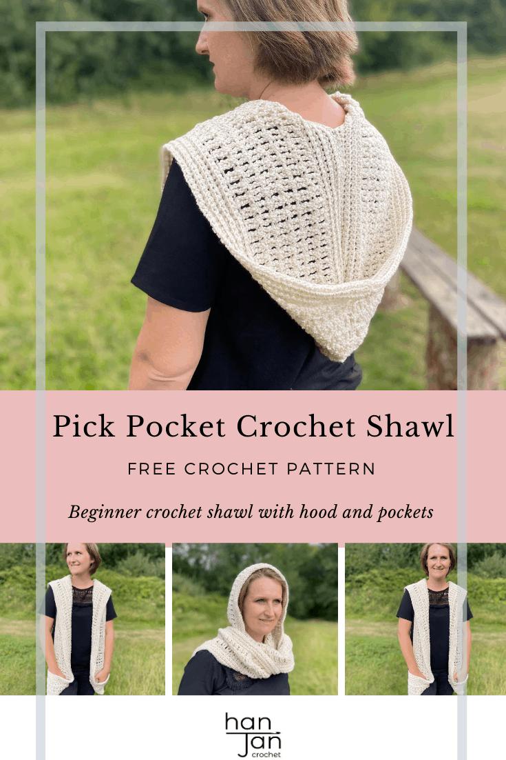 Pick Pocket Crochet Shawl 3