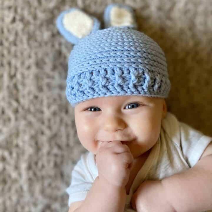 Baby Bunny Hat 1