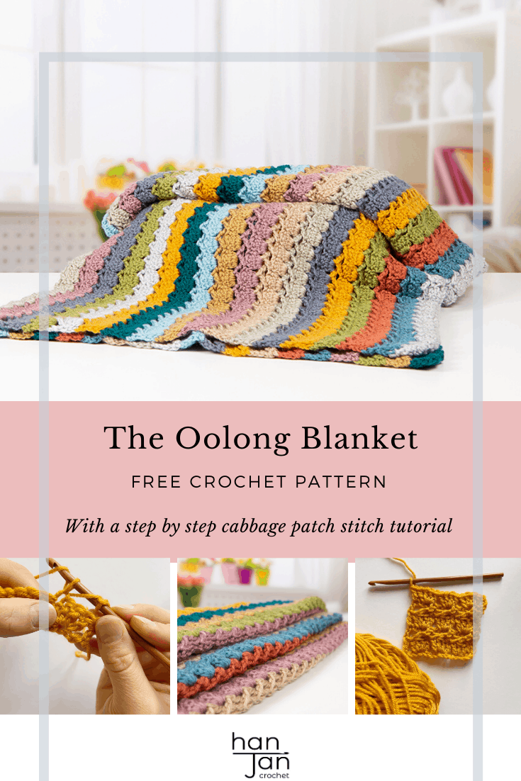 Cabbage PatchOolong Blanket Pattern Pin 3