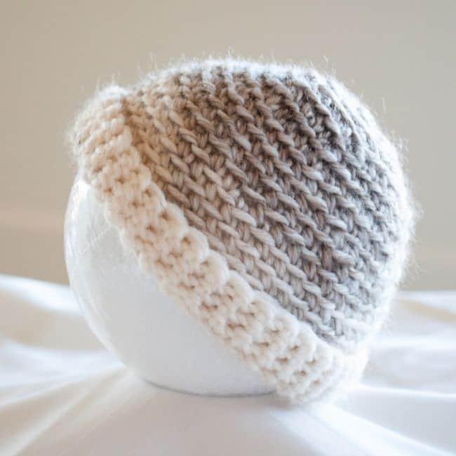 SBC 3 Spiral Baby Hat