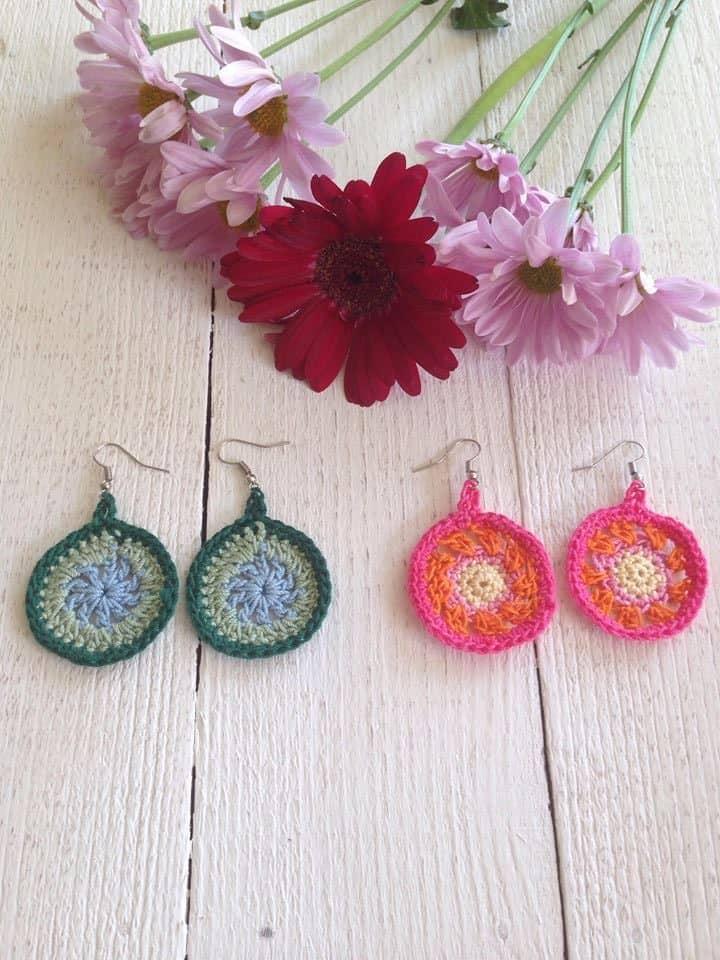 SBC 3 earrings