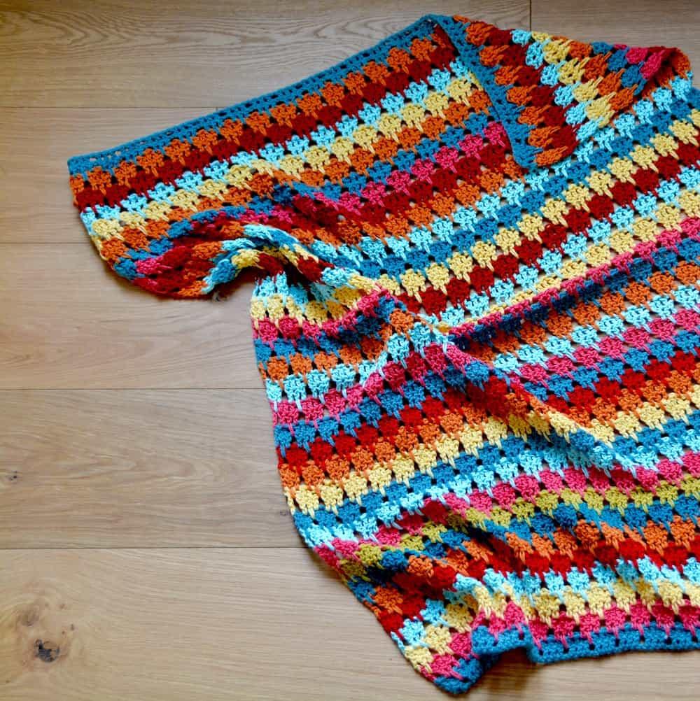 7. Yarn Stash Series Larksfoot Blanket 1