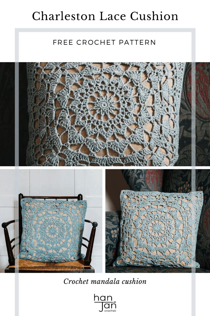 Charleston Lace Cushion 2