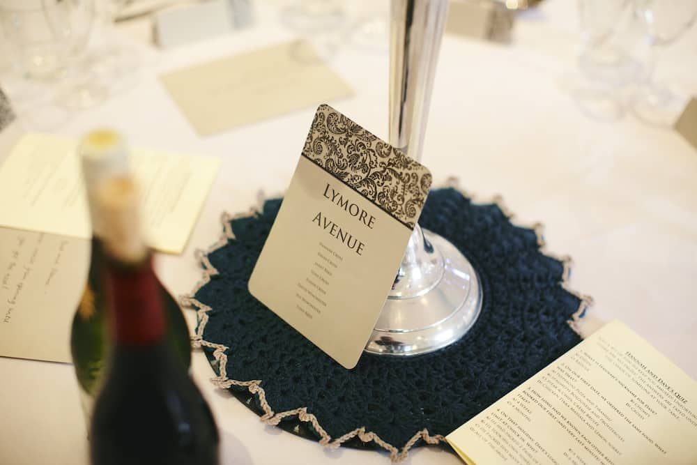 DIY crochet wedding table centre piece idea. How to crochet for your wedding.
