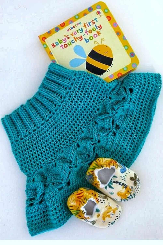 Isbabella skirt, a free children's summer crochet skirt pattern