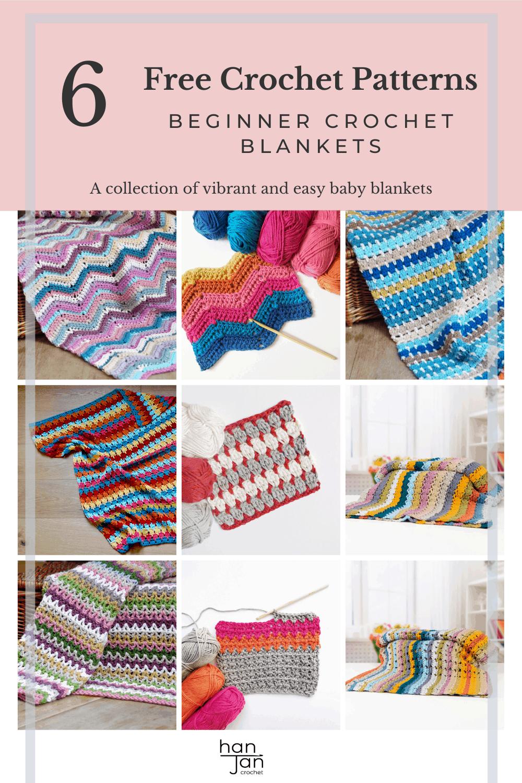6 Beginner Blankets 1