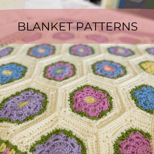 crochet blanket pattern by HanJan Crochet