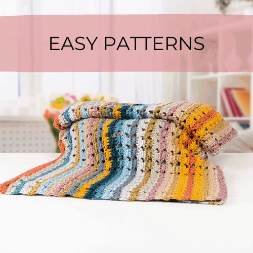 beginner crochet baby blanket
