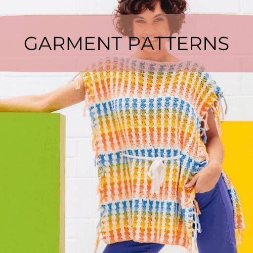 crochet summer poncho pattern