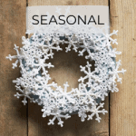 snowflake crochet christmas wreath