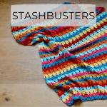 Larksfoot stitch crochet blanket