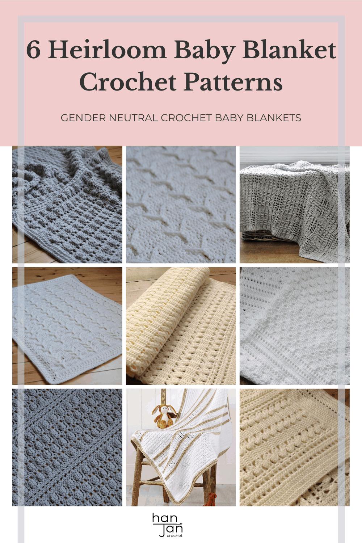 Heirloom Baby Blanket Crochet Patterns 1