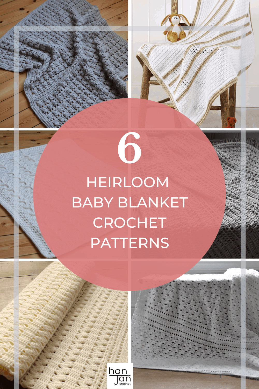 Heirloom Baby Blanket Crochet Patterns 3 1