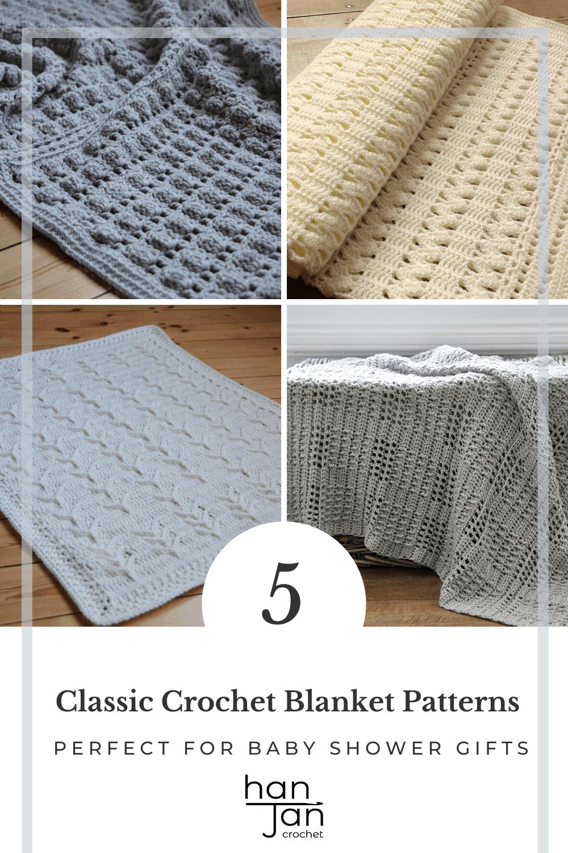 Heirloom Baby Crochet Blanket Pattern Bundle 2