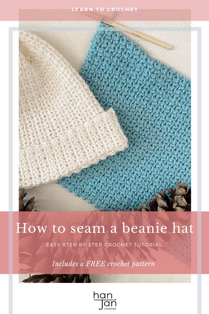 Slip Stitch Beanie Tutorial 2