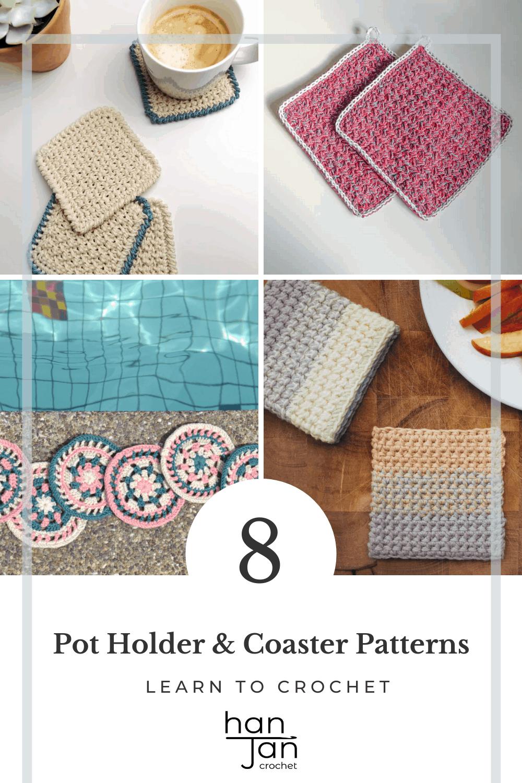 8 free easy crochet coaster patterns