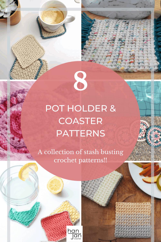 crochet home decor coaster patterns