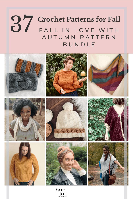 Autumn Crochet Bundle 1