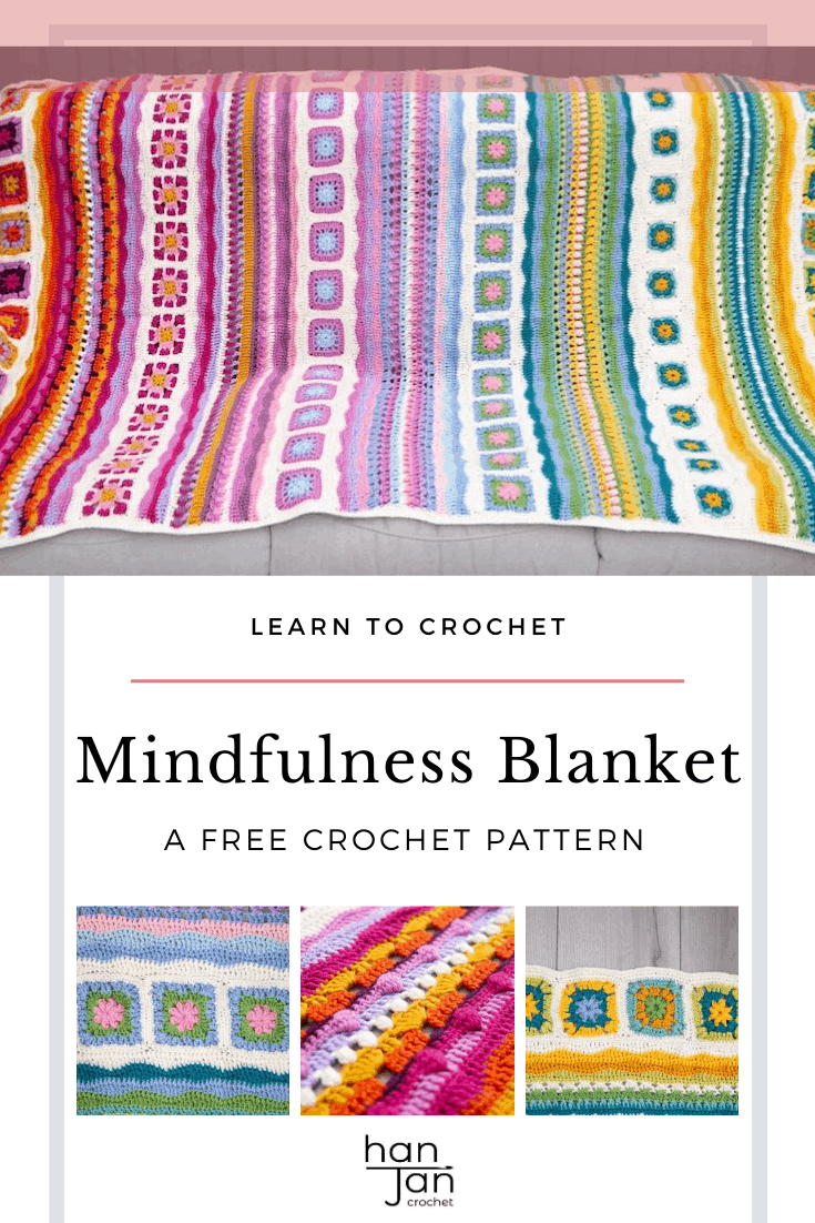 Mindfulness Crochet Blanket CAL 1
