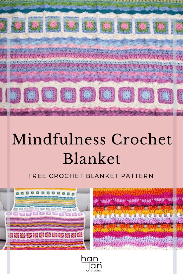 Mindfulness Crochet Blanket CAL 3