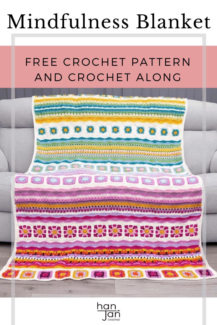 Mindfulness Crochet Blanket CAL 4