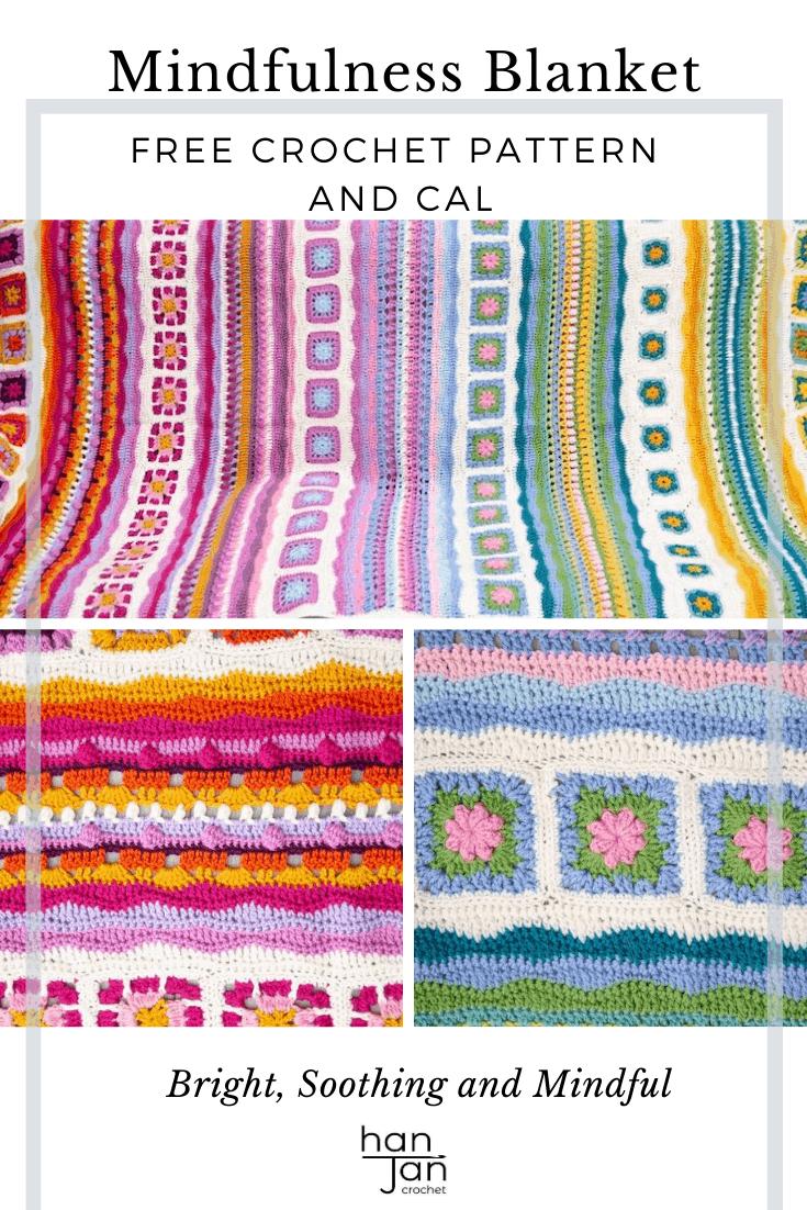 Mindfulness Crochet Blanket CAL 5