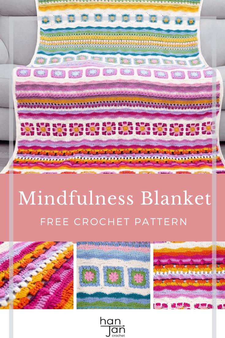 Mindfulness Crochet Blanket CAL 6