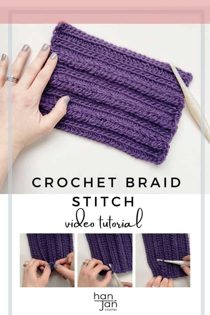 how to crochet a braid in chunky yarn
