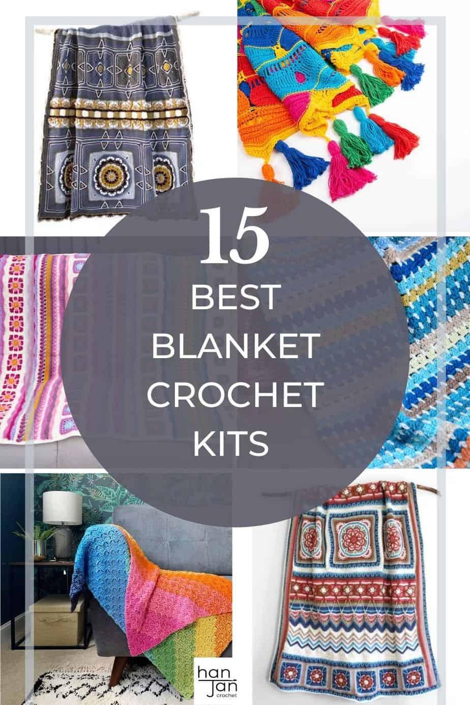 15 Best Blanket Crochet Kits for beginners and beyond 3