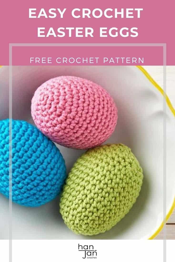 Crochet Easter Eggs Free Amigurumi Crochet Pattern 1